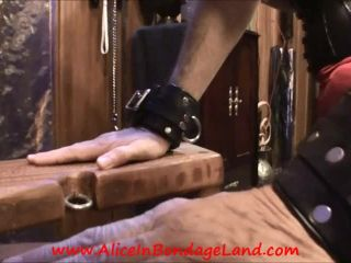 Aliceinbondageland – Deck The Balls Part 1 – Spanking and Strap-On Christmas Humiliation
