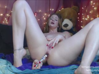 Gingerspyce – Princess Bubblebutt Anal Gape Squirts p2