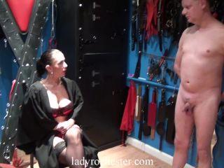 Bdsm – LADY ROCHESTER English Mistress – A Wanker's Punishment