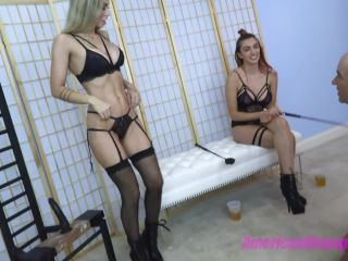 Porn online Young Mistress – THE MEAN GIRLS – Geezer And The Dick – Princess Mia and Goddess Platinum