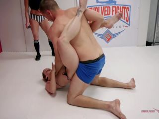 evolved fights: february 26, 2019 – bella rossi, max blunts/bella rossi is annihilated in wrestling match then fucked