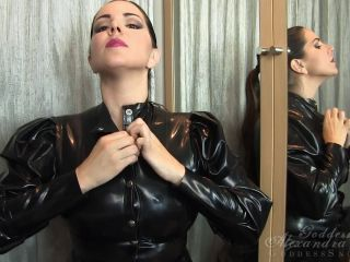 Tease & Denial – Goddess Alexandra Snow – More Shiny Tit Worship