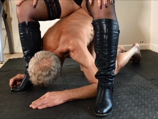 Under Her    english female domination   old/young leena sky femdom