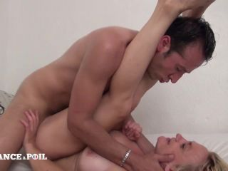 Lafranceapoil_com - Horny big titted blonde cougar gets her ass pounded and creamed by her handyman