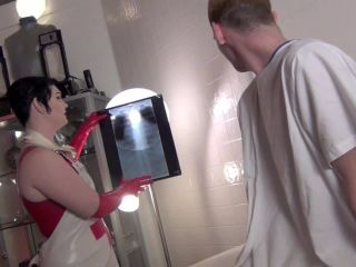 Latex – Domnation – BIZARRE RUBBER CLINIC FOR EXCESSIVE ERECTIONS Starring Madam Quinn Helix