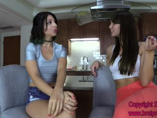 Sorority Girls – Brat Princess 2 – Alexa Devon and Natalya – Humiliated Whore Worships Feet Before Sorority Party (Pa…