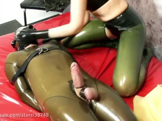 Latex Play – MY SLAVE HD Femdom Videos – Bound Rubber Toy Boy in my Bed 3