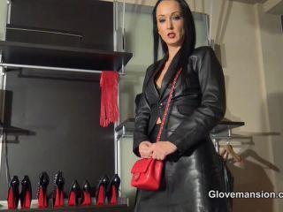 Pov – Glove Mansion – Leather glove fetish handjob – Fetish Liza