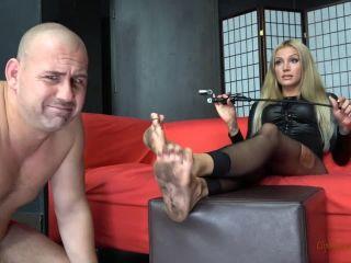 The Shooting Gone Bad –  Mistress Tatjana  – Clean My Very Dirty Feet!