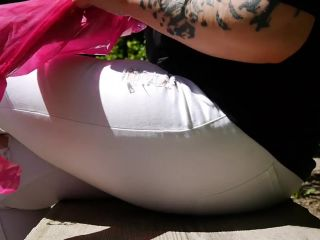 Mistress Dominique Plastique outdoor deep fisting fuck [Strapon, Anal Fisting, Amateur]