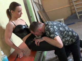 Pegged by a Cruel Goddess 2 scene 1-4