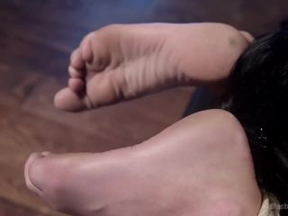 No Holds Barred: Daisy Ducati shocks & fucks lesbian pain slut!, Scene 1