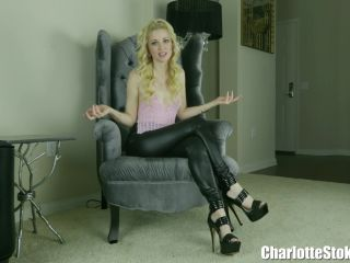 Charlotte Stokely in A Dick Slapping Facial Dare