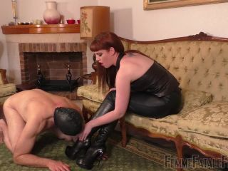 Boot Domination – Femme Fatale Films – Boot Worship Day – Part 2 – Miss Zoe