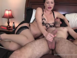 [Femdom 2018] Vancouver Kinky Dominatrix  Ruined Smother Slave [Ruined Orgasms, Sperm, Cumshot, Milking]