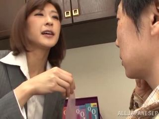 Awesome Naughty Japanese milf, Ichika Kanhata is aroused by her horny student Video Online