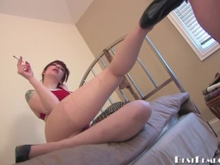Best Femdom  Up In Smoke. Starring Mistress Sidney [Pegging, Dildo Fucking, Strap-On]