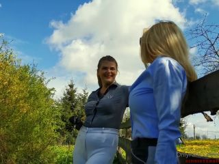 Mistress Melisande Sin, Goddess Liara Sin – Sin Sisters – Clean Our Riding Boots! (Polish Language) (1080 HD)