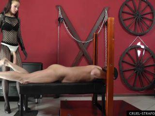 Cruel Mistresses - Anette Treats Him Rough. Starring Mistress Anette