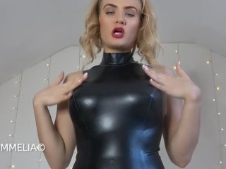 Goddess Dommelia — Shiny Latex JOI Tax
