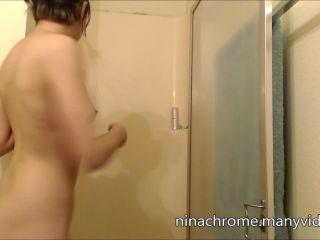 Nina Chrome - shower quickie [Manyvids]