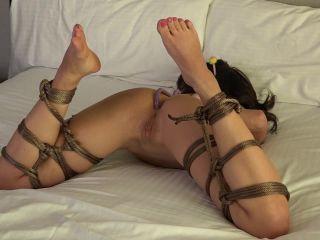 Kiki's Bound Anal Hook - Behind the Scenes