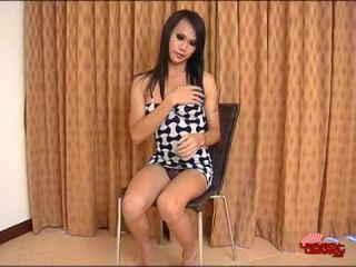 Online shemale video Sasa Cums For You