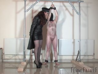 Femme Fatale Films – Mistress Lady Renee – Lashed Man Standing – Complete Film – Whipping