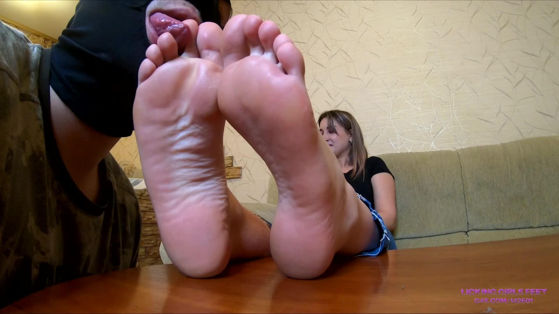 Sweaty Dirty Feet Worship