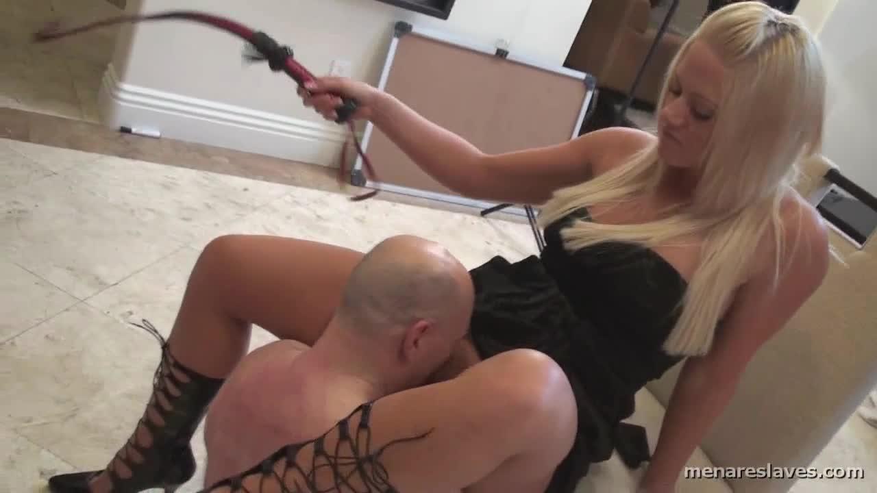 Mistress Boot Licking Slave