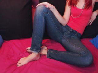 Feet JOI – Candystart – lick my soles