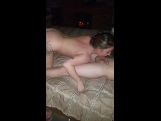 MFF hotwife titty fuck and blow job
