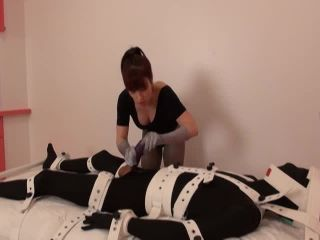 Christina QCCP in Chastity Check-In: Unlocksie Day!, femme fatale femdom on handjob