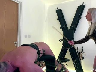 Mistress Anna Elite – Am I Going To Have To Hit You Harder – Femdom spanking