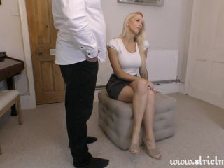 Step Sister Tamara Disciplines Her Pervy Brother!!!