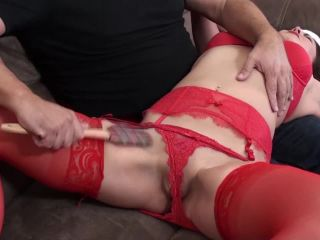 Chrissy Marie Spanked with the Spatula - Holiday Spanking 2