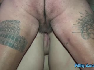 Nasty Orgy with BBW Teen and Rasta with Hairy Pussy