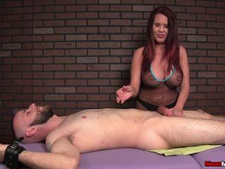 mean massage  grace evangeline  brutal vip massage  femdom handjob