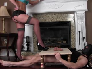 Porn online Club Stiletto FemDom – Kandy Controls His Cock and Balls  Starring Mistress Kandy femdom