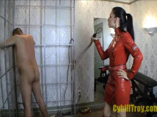 Cybill Troy FemDom Anti-Sex League  Breaking the Prisoner  Dove-Tail Whipping