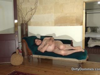 Redhead – DirtyDommes – Muddy dirty boots domination – Domina Liza