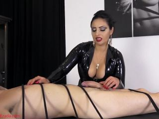 Sperm – Mistress Ezada Sinn – Bound to have his orgasms ruined