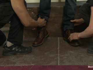 Hairy dude gets his uncut cock edged! - Kink  November 5, 2013