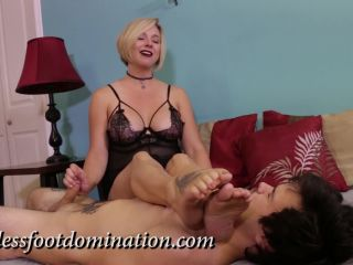 Goddess Foot Domination – Goddess Brianna – Post Orgasm Torture