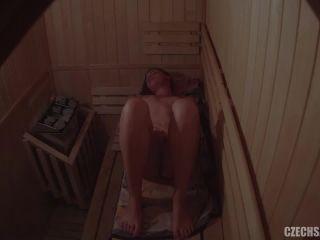 Czech Sauna - Czech celebrity in sauna