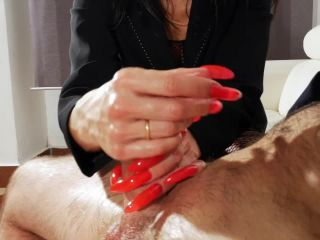 UNCHAINED PERVERSIONS GONZO – SUPER SEXY MILF HANDJOB PERSUADING – Angelina Elise Handjob