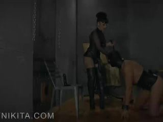 Boot Fetish – Mistress Nikita FemDom Videos – Suffer To Suck My Cock, Bitch