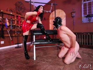 [Femdom 2018] ClubDom  Cruel Unusual FemDom  Mistress Raven Eve Demands Worship [Jerkoff, Cum on Boots, Cum Eating, Cum Swallowing, Male Cum Swallowers]
