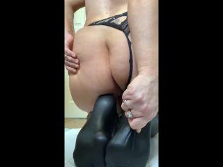 XshayXshayX - Fetish Series - PVC Stockings [FullHD 1080P] - Screenshot 2