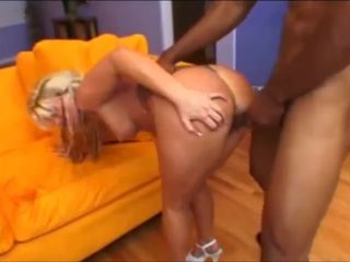 BBC drills Summer's ass for a gaping ass creampie